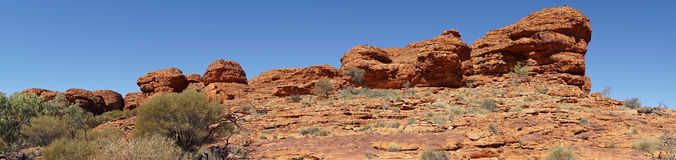Northern Territory, Australia. Landscape of the Kings Canyon, Outback of Northern Territory, Australia Stock Photography