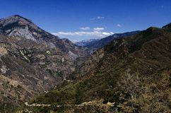 Kings Canyon Diamond Peak Royalty Free Stock Photo