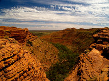 Kings Canyon Gorge Royalty Free Stock Images