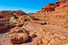 Kings Canyon landscape Royalty Free Stock Photography