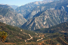 Kings Canyon National Park Royalty Free Stock Photos