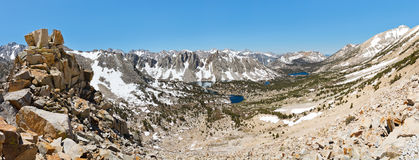 Kings Canyon National Park Panorama Stock Photo