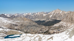 Kings Canyon National Park Scenery Royalty Free Stock Image