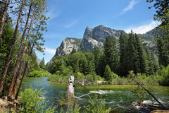 Kings Canyon National Park. Sierra Nevada Scenery - Kings river in Kings Canyon National Park, California Stock Photo
