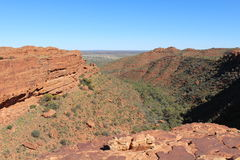 Kings Canyon in the Northern Territory of Australia stock photography