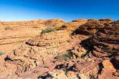 Kings Canyon Rock Formation Royalty Free Stock Photos