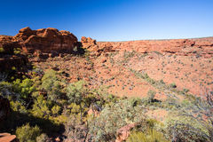 Kings Canyon Valley View Royalty Free Stock Photo