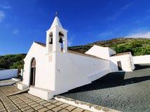 Kings' chapel on Hierro. Kings' chapel - Ermita de la Virgen de los Reyes on Hierro, Canary Islands, Spain royalty free stock photos