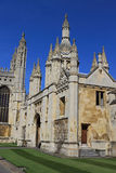 Kings College. At Cambridges University, Cambridge, UK Royalty Free Stock Photography
