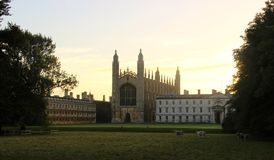 Kings college Cambridge Royalty Free Stock Photos