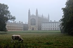 Kings college Cambridge Royalty Free Stock Image