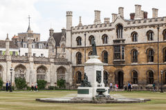 Kings College Cambridge England Stock Photos