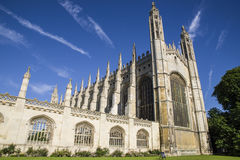 Kings College Cambridge Royalty Free Stock Photo