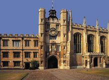 Kings college  cambridge university Royalty Free Stock Photo