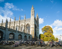 Kings college chapel Royalty Free Stock Photos