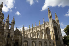 Kings college chapel Cambridge Royalty Free Stock Photo