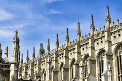 Kings college chapel Cambridge Stock Photos