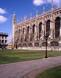 Kings College Chapel, Cambridge, England. Stock Photography