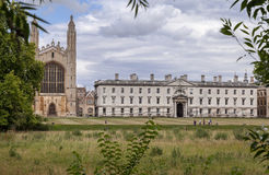 Kings College Chapel Cambridge England Royalty Free Stock Photography