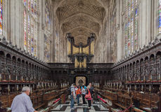 Kings College Chapel Cambridge England Stock Image