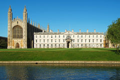 Kings College and Chapel Cambridge Royalty Free Stock Photo