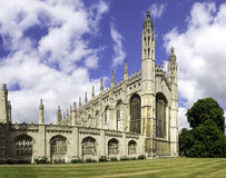 Kings college chapel Cambridge Stock Photo
