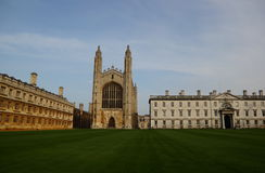 Kings College Chapel, Cambridge, United Kingdom Stock Image