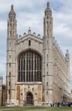 Kings College Chapel Cambridge University England Stock Photo