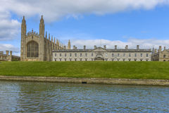 Kings College Chapel and College, Cambridge University Royalty Free Stock Photos