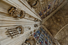 Kings College interior Royalty Free Stock Photography