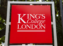 Kings College London Stock Image