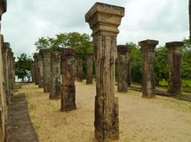 The kings councel chamber in Polonnaruwa Stock Images