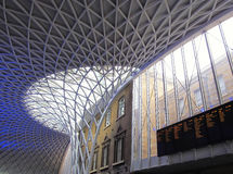 Kings Cross railway station Royalty Free Stock Images