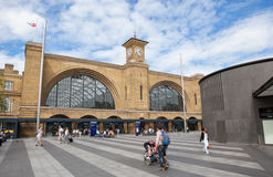 Kings Cross Railway Station Royalty Free Stock Photo