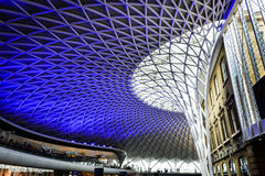 Kings Cross Station ceiling, London Royalty Free Stock Images