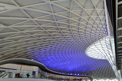 Kings Cross Station ceiling, London (2) Royalty Free Stock Image