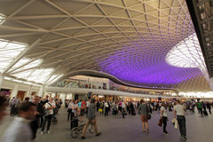 Kings Cross Station Stock Photo