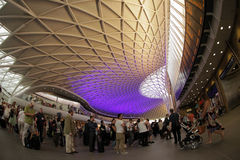 Kings Cross Station Stock Image