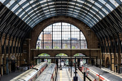 Kings Cross Station High View Royalty Free Stock Photography