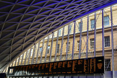 Kings Cross Station, London Royalty Free Stock Images