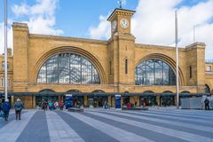 Kings Cross station, London, UK Royalty Free Stock Images