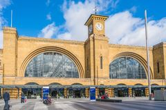 Kings Cross station, London, UK Stock Photo