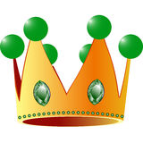 Kings crown. Against white background; abstract vector art illustration stock illustration