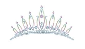 Kings Crown diamonds. Illustration design vector illustration