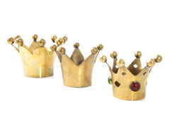 Kings crowns Royalty Free Stock Photos