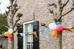 Kings day in Holland Stock Photo