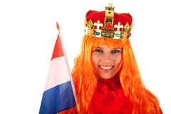 Kings day in Holland Stock Images
