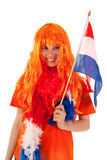 Kings day in Holland Royalty Free Stock Photo