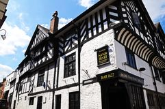 Kings Head Pub, Chester. Royalty Free Stock Photos