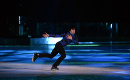 Kings on Ice Stock Photo